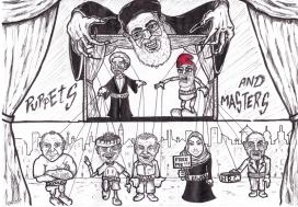 Me as an Iranian puppet