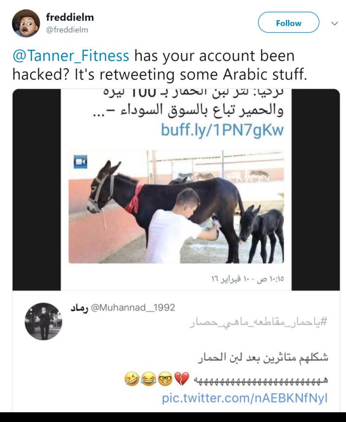 294212eef Twitter accounts hijacked to tweet anti-Qatar propaganda and ...